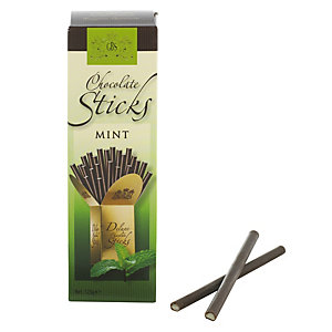 Belgian Dark Chocolate Sticks - Mint 125g
