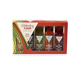 Cottage Delight Mini Hot Sauces Gift Set