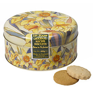 St Kew Daffodil Biscuit Tin