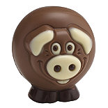 Belfine Chocolate Pig