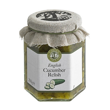 English Cucumber Relish