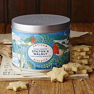 Artisan Stilton & Walnut Biscuits