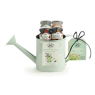 Cottage Delight Watering Can Planter Food Hamper