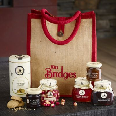 Mrs Bridges Christmas Hamper Bag In Hampers At Lakeland