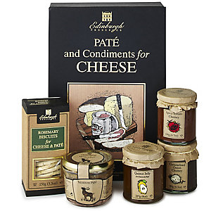 Edinburgh Preserves Pâté & Condiments for Cheese Gift Set
