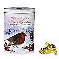 Christmas Robin Fudge Tin