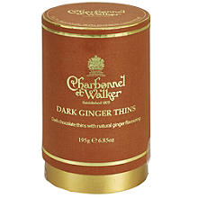 Charbonnel Ginger Thins