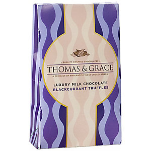 Thomas &Grace® Luxury Blackcurrant Truffles