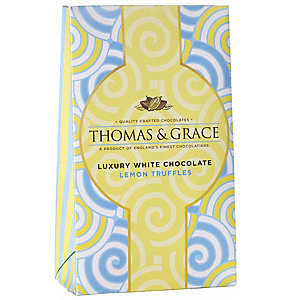 Thomas & Grace® Luxury Lemon Chocolate Truffles