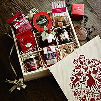 Lakeland Bauble Hamper Box
