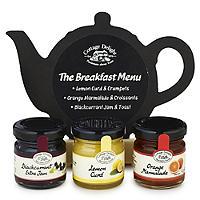 Cottage Delight Breakfast Menu Selection