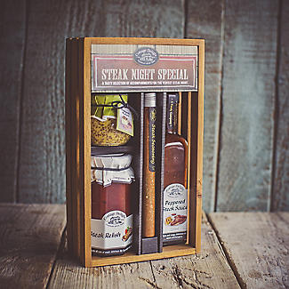 Cottage Delight Steak Night Special Food Gift Box alt image 2