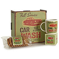 Car Wash Mug Gift Set