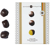 Choc O Fruits Dark Choc Ginger Balls