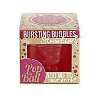 Strawberry PopaBall Bursting Bubbles