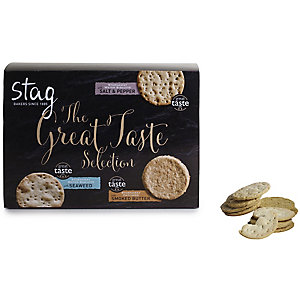 Stag Great Taste Savoury Biscuit Tin