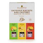 Grandma Wild's Biscuit & Chutney Selection