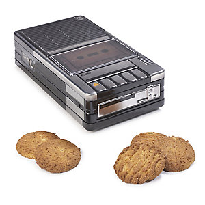 Casette Player Filled Biscuit Tin