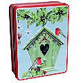 Grandma Wilds Embossed Birdhouse Tin