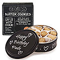 Say It With Chalk Biscuit Tin