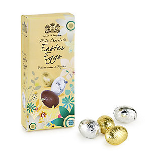 Foil-Wrapped Milk Chocolate Eggs