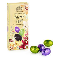 Foil-Wrapped Dark Chocolate Eggs