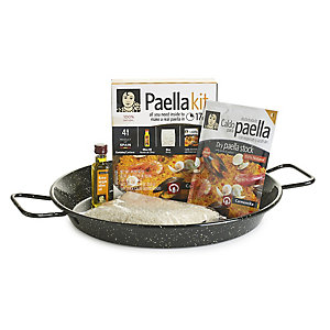 Carmencita Paella Pan & Ingredients Gift Kit
