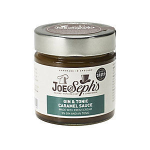 Joe & Seph's Gin & Tonic Caramel Sauce