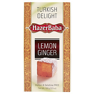 Hazer Baba Ginger & Lemon Turkish Delight