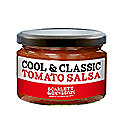 Scarlett and Mustard Tomato Salsa