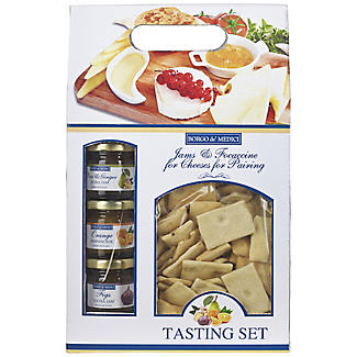 Jams and Focaccine for Cheese Tasting Set