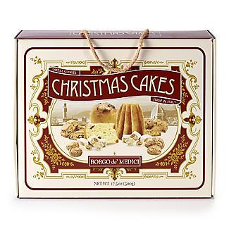 Italian Christmas Cakes Gift Box