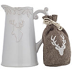 Mulled Wine Stag Jug with Spices