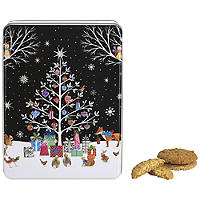 Embossed Woodland Tin