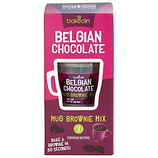 Baked In® Mug Belgian Chocolate Brownie Mix