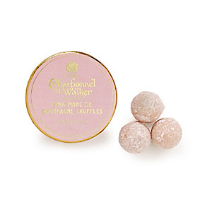 Charbonnel et Walker Pink Marc de Champagne Truffles Mini Box