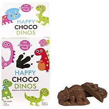 Lustige Schokoladendinos