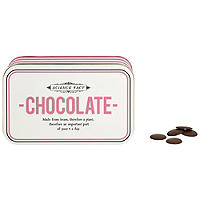 Chocolate Tin with Chocolate Buttons