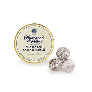 Charbonnel et Walker Milk Sea Salt Caramel Truffles Mini Box