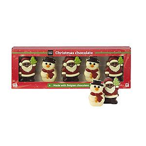 Chocolate Christmas Shape Assortment