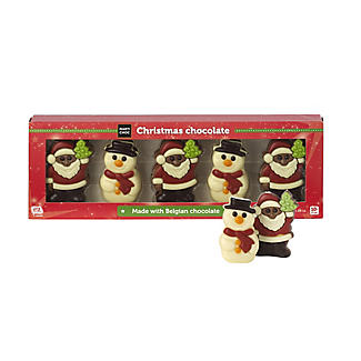 Chocolate Christmas Shape Assortment alt image 1