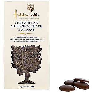 Holdsworth Venezuelan Milk Chocolate Buttons