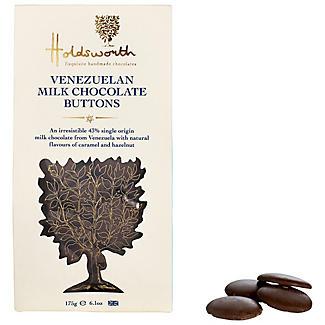 Holdsworth Venezuelan Milk Chocolate Buttons