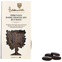 Holdsworth Peruvian Dark Chocolate Buttons