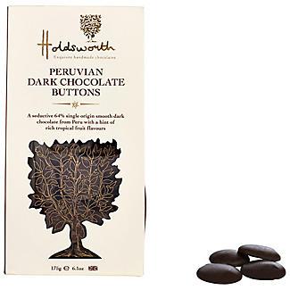Holdsworth Peruvian Dark Chocolate Buttons