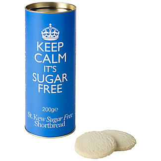 St Kew® 'Keep Calm, It's Sugar Free' Shortbread