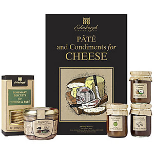 Edinburgh Preserves Pâté & Condiments for Cheese Gift Box