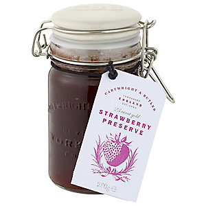 Cartwright & Butler Strawberry Jam With Gold Flakes