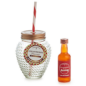 The Modern Cocktail® Strawberry Daiquiri Mason Jar