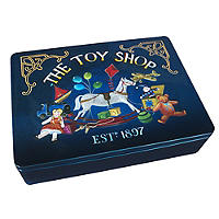 Grandma Wild's Toy Shop Biscuit Tin
